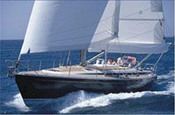 Segelbåt Spanien