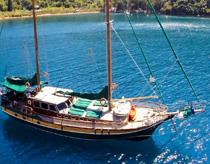 Guletbåtar Grekland
