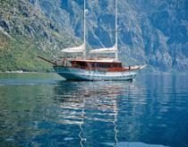 Guletbåtar Montenegro