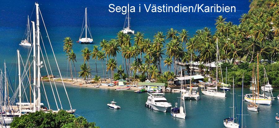 Segla i Västindien/Karibien