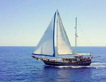 Guletbåtar Italien