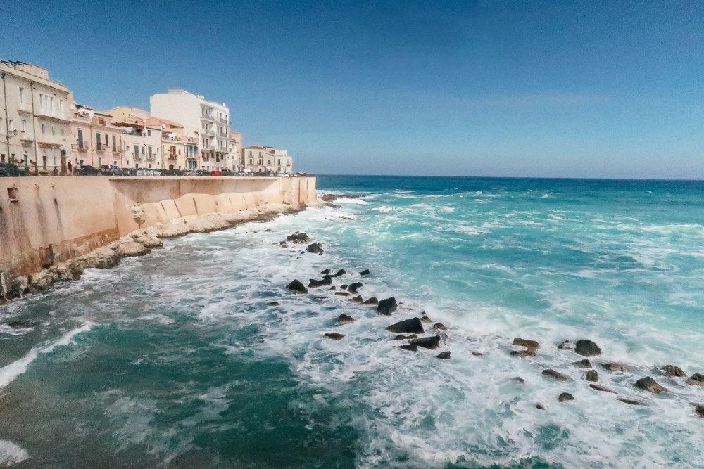 Segla i Sicilien